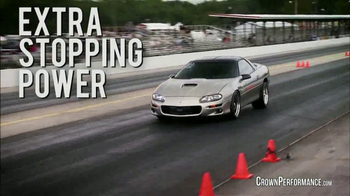 Crown Performance Products TV Spot, 'Extra Stopping Power' - Thumbnail 5