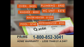 Prime Home Warranty TV Spot, 'Attention Homeowners' - Thumbnail 2