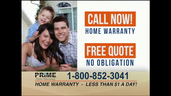 Prime Home Warranty TV Spot, 'Attention Homeowners' - Thumbnail 7