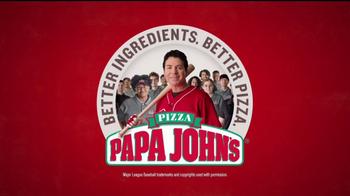 Papa John's Double Play TV Spot, 'Baseball' - Thumbnail 9