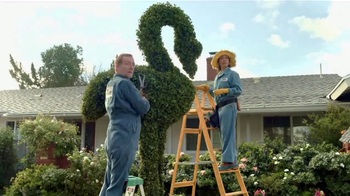 GoDaddy GoCentral TV Spot, 'Lawn Art' Song by Rick Astley