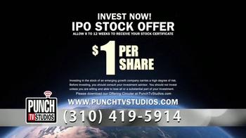 Punch TV Studios TV Spot, 'IPO Stock Offer' - Thumbnail 9