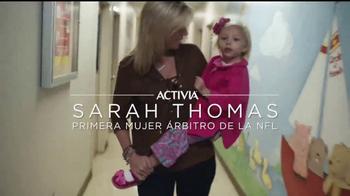 Dannon Activia TV Spot, 'Rutina sana' con Sarah Thomas [Spanish] - Thumbnail 2