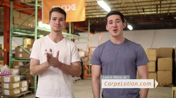 Carpe TV Spot, 'Hyperhidrosis and Carpe'