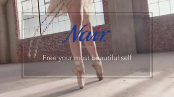 Nair Nourish TV Spot, 'Free Yourself: Ballet Dancer'