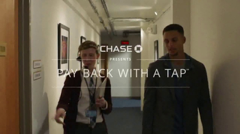 Chase App TV Spot, 'Pay Back With a Tap' Ft. Stephen Curry, Serena Williams - Thumbnail 1