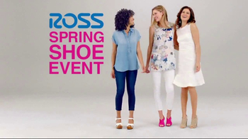Ross Spring Shoe Event TV Spot, 'Step Into Savings' - 28 commercial airings