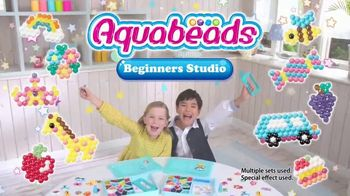 Aquabeads Beginners Studio TV Spot, 'Inspire Creativity'
