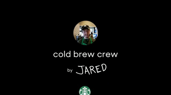 Starbucks Cold Brew TV Spot, 'Cold Brew Crew by Jared' - Thumbnail 1