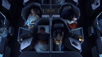 United Airlines Polaris Business Class TV Spot, 'Spelling It Out' - Thumbnail 4