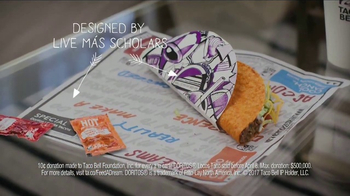 Taco Bell Doritos Locos Tacos TV Spot, 'Did You Know?: Feed a Dream' - Thumbnail 8