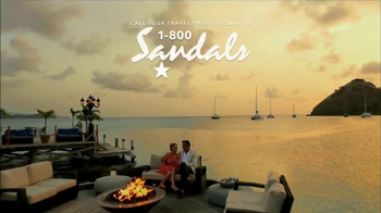 Sandals Resorts TV Spot, 'Over the Water' - Thumbnail 6