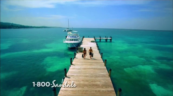 Sandals Resorts TV Spot, 'Over the Water' - Thumbnail 1