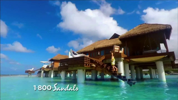 Sandals Resorts TV Spot, 'Over the Water' - 989 commercial airings