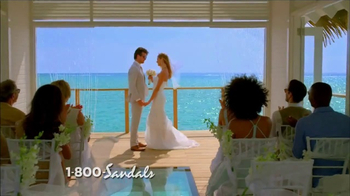 Sandals Resorts TV Spot, 'Over the Water' - Thumbnail 4