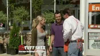 Tuff Shed TV Spot, 'The Home Depot: Upgrades'
