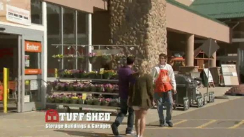 Tuff Shed TV Spot, 'The Home Depot: Upgrades' - Thumbnail 1
