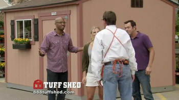Tuff Shed TV Spot, 'The Home Depot: Upgrades' - Thumbnail 5