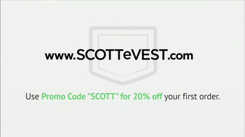 SCOTTeVEST TV Spot, 'Problem Solved' - Thumbnail 10