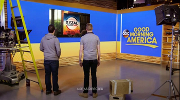 XYZAL TV Spot, 'ABC: Good Morning America Crew' - Thumbnail 7