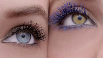 L'Oreal Voluminous Original Mascara TV Spot, 'Hue of Blue' - Thumbnail 8