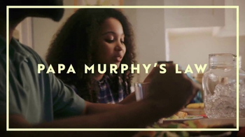 Papa Murphy's $7 XLNY Pizza TV Spot, 'Murphy's Law of Questionable Quality' - Thumbnail 3