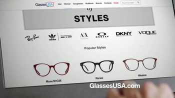 GlassesUSA.com TV Spot, 'You Need New Glasses: Hers' - Thumbnail 3