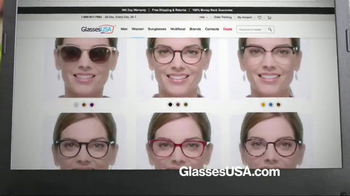 GlassesUSA.com TV Spot, 'You Need New Glasses: Hers' - Thumbnail 4