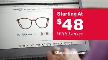 GlassesUSA.com TV Spot, 'You Need New Glasses: Hers' - Thumbnail 5