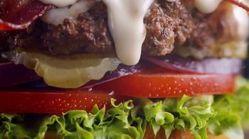 Denny's Bacon Gouda Burger TV Spot, 'Classy' - Thumbnail 2