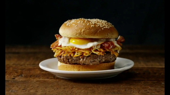 Denny's Slam Burger TV Spot, 'World Famous' - Thumbnail 9