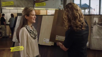 Lumber Liquidators CoreLuxe TV Spot, \'Life Happens: Envy of the Block\'