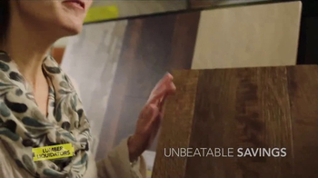 Lumber Liquidators CoreLuxe TV Spot, 'Life Happens: Envy of the Block' - Thumbnail 9