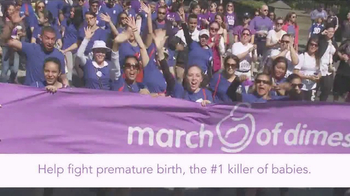 March of Dimes TV Spot, 'King 5: March for Babies' - Thumbnail 8