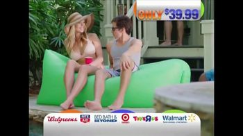 Pouch Couch Inflatable Lounger TV Spot, 'Dorm Room Chill'