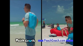 Pouch Couch Inflatable Lounger TV Spot, 'Dorm Room Chill' - Thumbnail 3