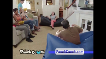 Pouch Couch Inflatable Lounger TV Spot, 'Dorm Room Chill' - Thumbnail 5