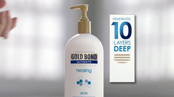 Gold Bond Ultimate Healing Skin Therapy Lotion TV Spot, 'Layers' - Thumbnail 3