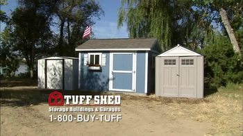 Tuff Shed TV Spot, 'Blow Away Competition' - Thumbnail 1