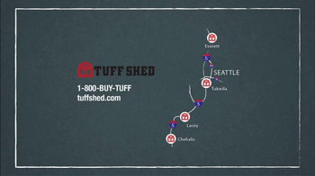 Tuff Shed TV Spot, 'Blow Away Competition' - Thumbnail 8