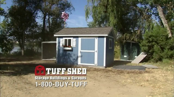 Tuff Shed TV Spot, 'Blow Away Competition' - Thumbnail 2