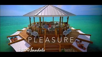 Sandals South Coast TV Spot, 'Water Is' - 2747 commercial airings
