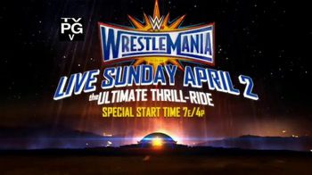 XFINITY TV Spot, 'WWE WrestleMania: The Ultimate Thrill-Ride' - Thumbnail 6