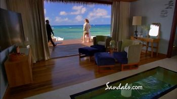 Sandals Resorts TV Spot, 'Over-the-Water Villas' - 216 commercial airings