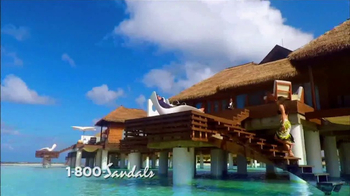 Sandals Resorts TV Spot, 'Over-the-Water Villas' - Thumbnail 1