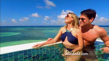 Sandals Resorts TV Spot, 'Over-the-Water Villas' - Thumbnail 4