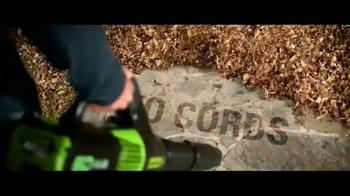 GreenWorks Pro 60V TV Spot, 'No Gas, No Cords' - Thumbnail 3