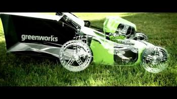 GreenWorks Pro 60V TV Spot, 'No Gas, No Cords' - Thumbnail 4