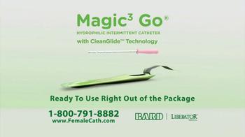 Liberator Medical Supply Magic3 Go Hydrophilic Catheter TV Spot, 'Leslie' - Thumbnail 2