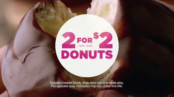 Dunkin' Donuts 2 for $2 TV Spot, 'Make Today Smile' - Thumbnail 4